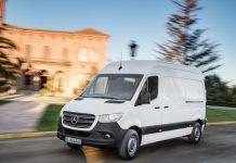 Le Sprinter de Mercedes-Benz Vans France