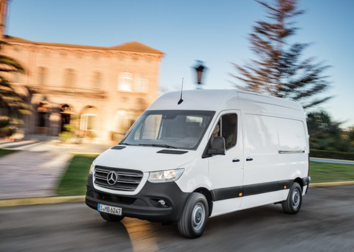 Le Sprinter de Mercedes-Benz Vans France