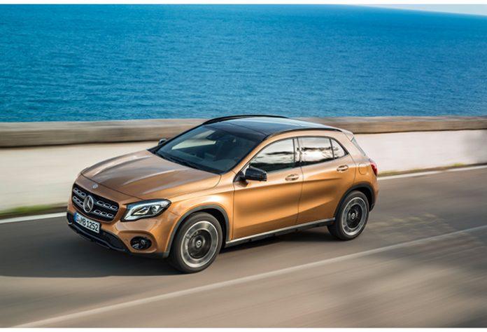 Gammes 2018 Mercedes - Mercedes GLA