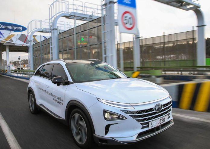 Hyundai autonome hydrogène