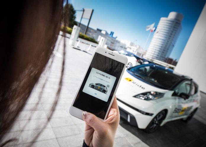 La voiture autonome de Nissan transformé en robot-taxi