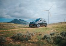 Sustainable Porto Santo - Smart Fossil Free Island - Renault Zoé in Porto Santo