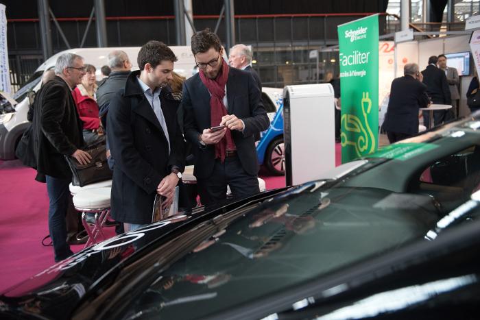Rencontres Flottes Automobiles 2018 – Espace électromobilité © Christophe Fillieule