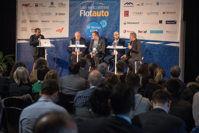 Rencontres Flottes Automobiles 2018 - les conférences