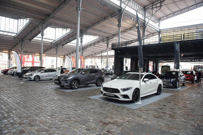 Rencontres Flottes Automobiles 2018 – 50 modèles exposés sous le péristyle © Christophe Fillieule