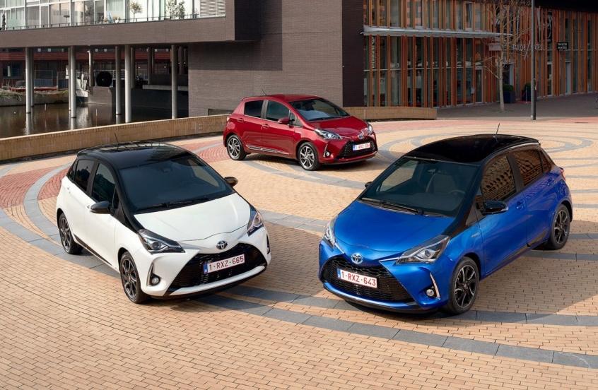 Toyota gamme yaris