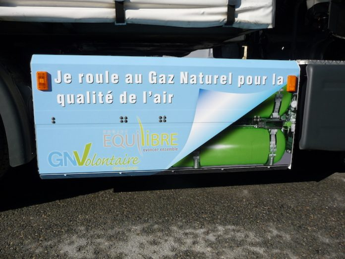 Transport durable : Véhicule GNV Megevand Frères