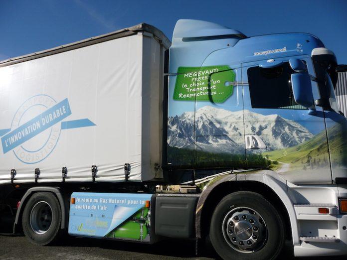 Transport durable : Véhicule GNV Megevand Frères