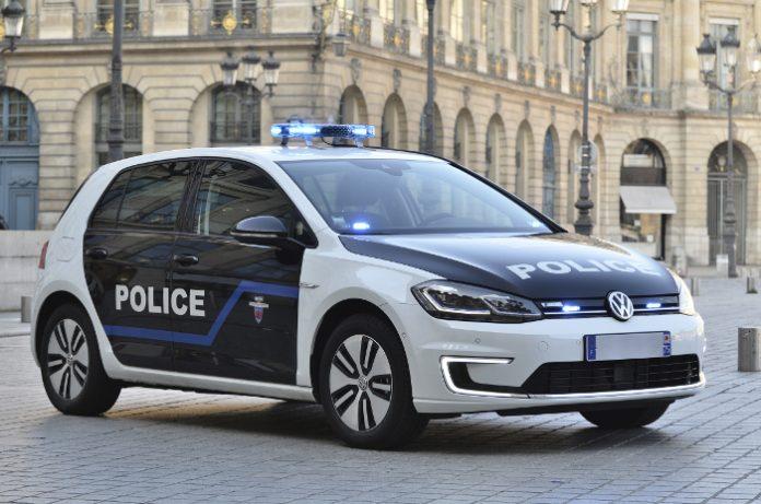 Volkswagen e-Golf Préfecture de police