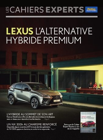 Cahiers Experts Lexus l'alternative hybride premium