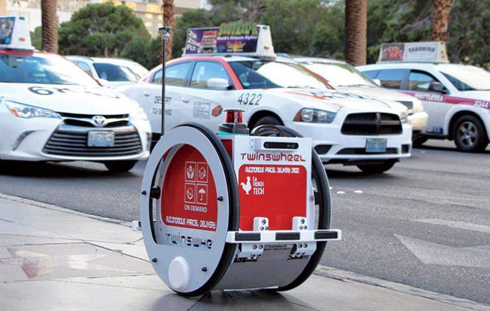 Robots livreurs : le droide autonome de TwinswHeel