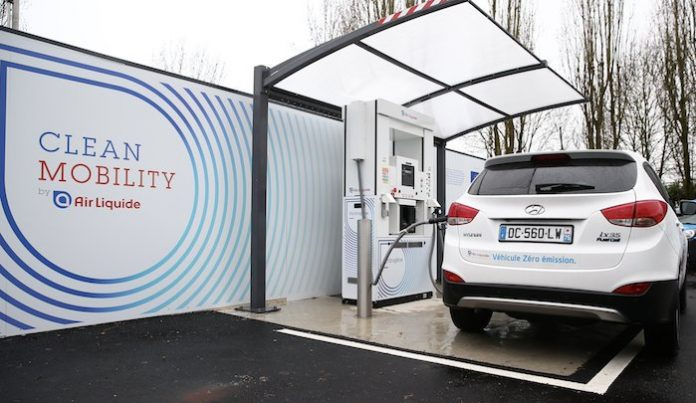 Air Liquide station hydrogene Loges-en-Josas