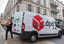 DPD France - Test de l'eVan 100 % électrique de TIp Trailer Services à orléans en 2017