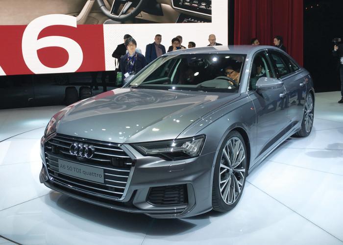 Genève 2018 Audi A6