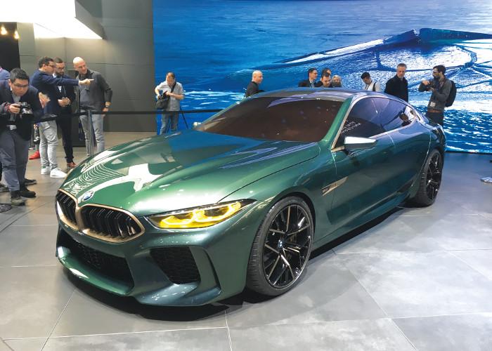 Genève 2018 BMW M8 Gran Coupé