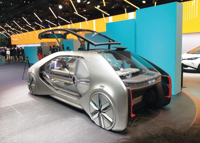 Genève 2018 Renault EZ-GO