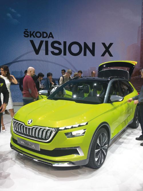 Genève 2018 Skoda Vision X