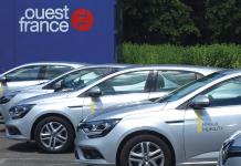 LLD offres 2018 - À la tête d'une flotte de 486 véhicules, le groupe de presse Ouest France a mis à disposition de ses conducteurs douze véhicules en autopartage, soit quatre Clio, quatre Scénic et quatre Mégane.