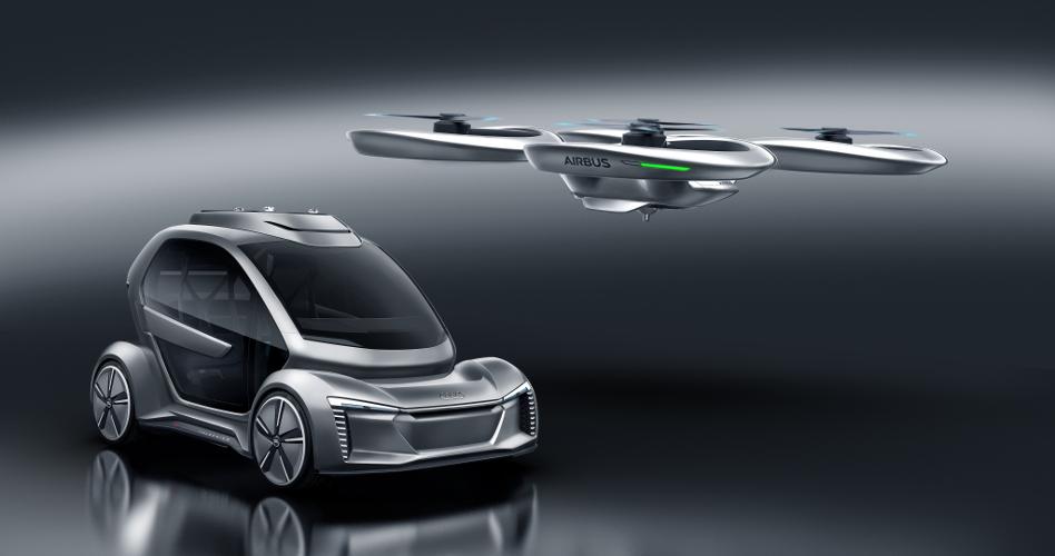 Pop Up Next Un Concept Car Qui Combine Transport