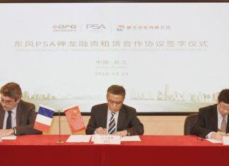 Signature coentreprise Dongfeng PSA DFG-BPF-DCPA