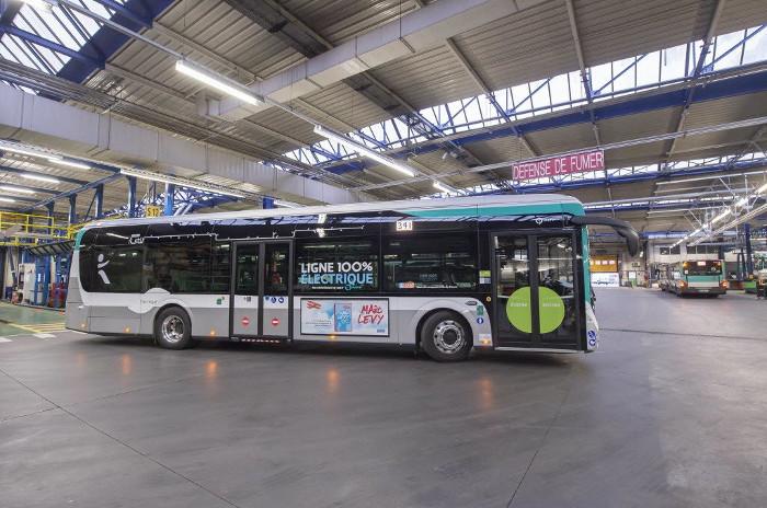 ratp enedis centres bus électriques