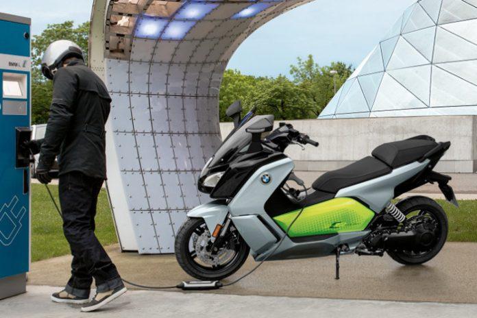 Deux-roues électriques - BMW C Evolution