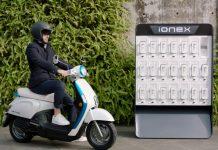 Le dernier scooter Ionex de Kymco