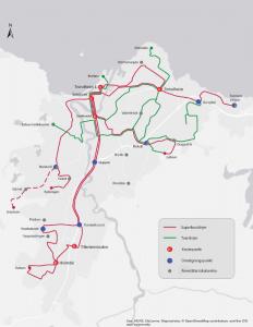 Plan de transport 2019 Trondheim