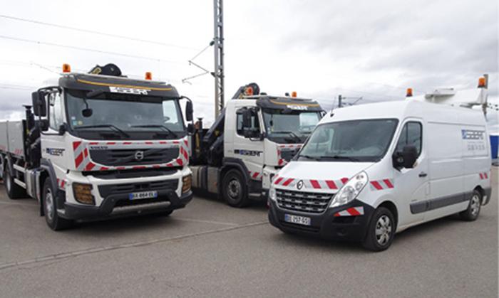 Pour le spécialiste des travaux publics Saert, le gestionnaire de flotte s'occupe de la cinquantaine de véhicules à 20-25 % de son temps…