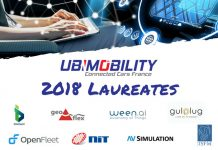 Les gagnants de la sélection Ubimobility