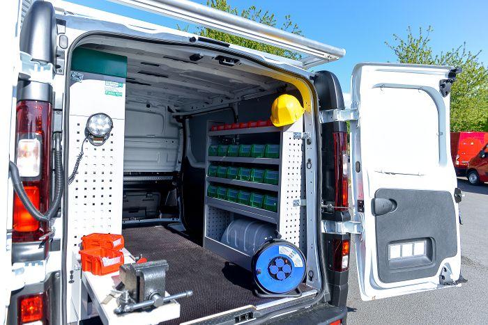 Aménagement équipement - Optima - Intérieur Trafic