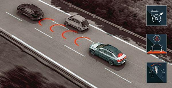 Régulateur de vitesse adaptif