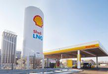 Shell station GNL Rotterdam