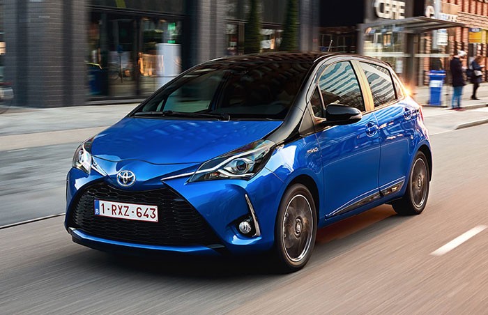 Véhicules de société - Toyota Yaris
