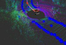 Visualisation de la voiture autonome reconnaissant les bords de route - © MIT CSAIL