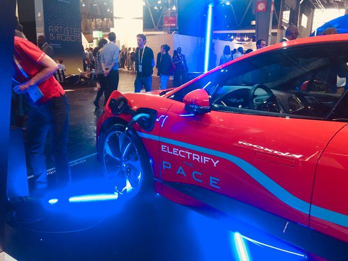 Vivatech 2018 - Jaguar I-Pace
