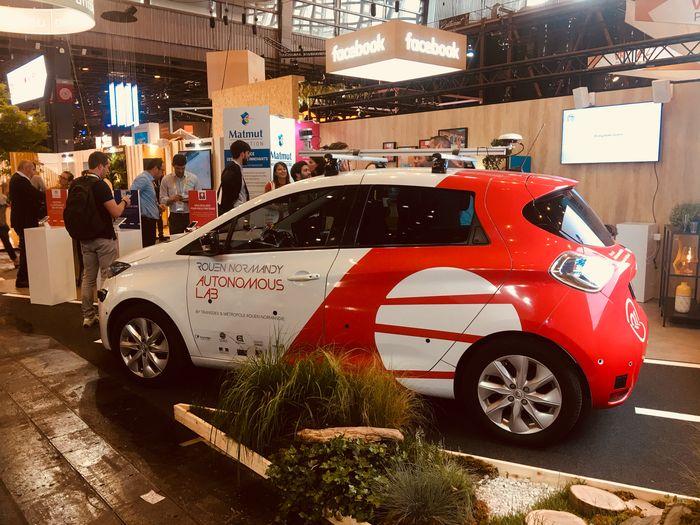 Vivatech 2018 - Rouen Normandy Autonomous Lab