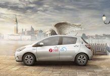Autopartage Venise Toyota