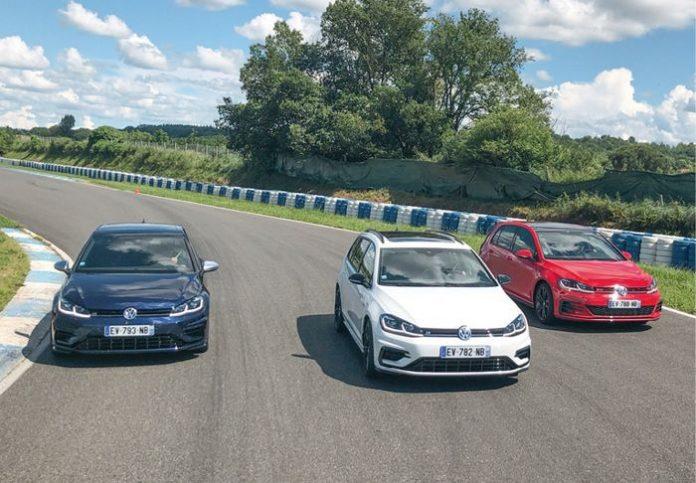 En piste avec Volkswagen Professionnels