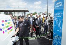 Engie inauguration station hydrogène Rungis