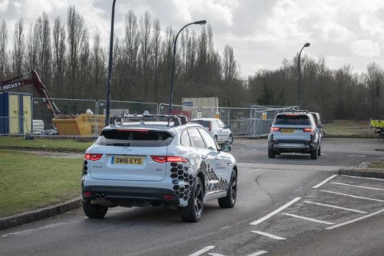 Jaguar Land Rover autonome