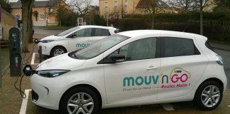 Autopartage électrique - Véhicules électriques Mouv'nGo