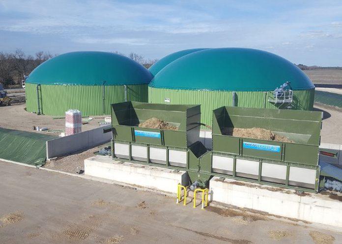 Unité de méthanisation Pot-au-Pin-Energie pour la production de bioGNV Cestas