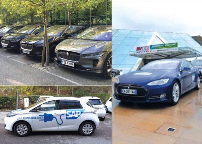 Véhicules électriques SAP Labs France