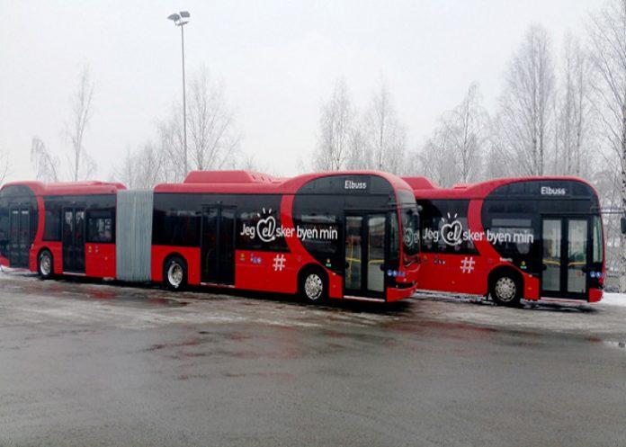 Byd bus Suède