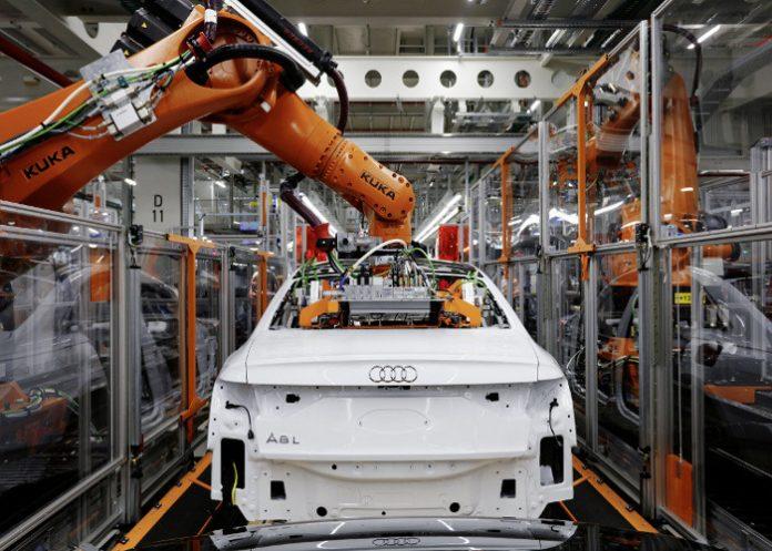 Audi chaine montage 5G