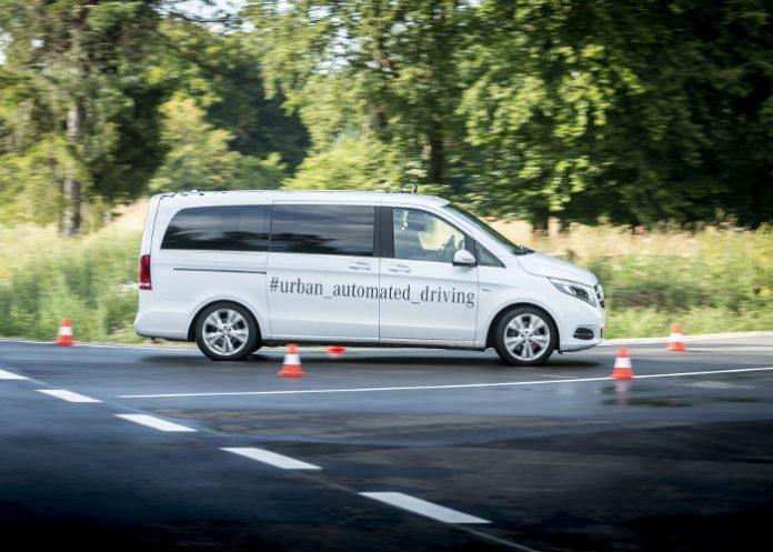 Bosch et Daimler navette autonome