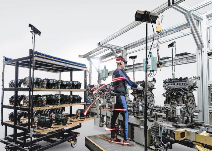 Ford ouvrier capteurs de mouvements