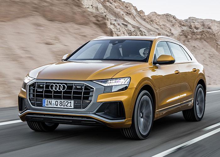 Mondial de Paris 2018 - Audi Q8