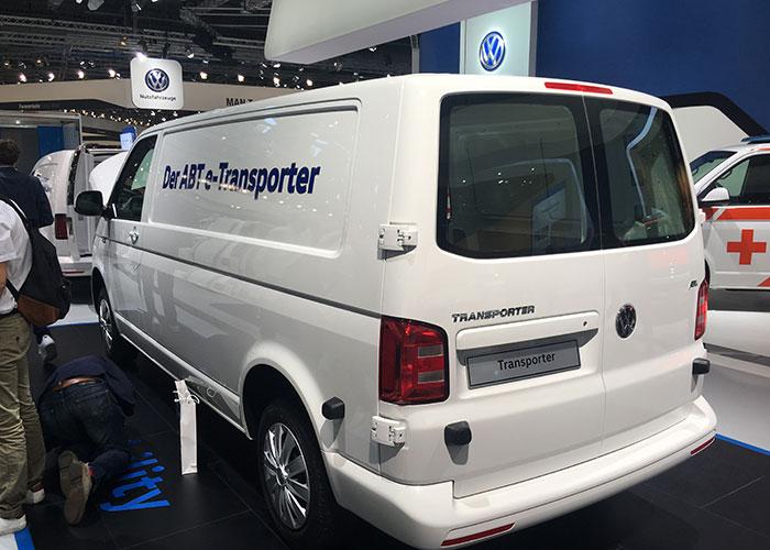 Volkswagen e-Transporter